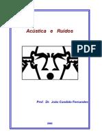 AcÚstica e RuÍdos - Apostila-1º Parte - João Candido Fernan