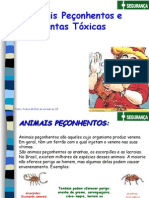 Animais PeÇonhentos e Plantas tÓxicas - p.m. sÂo Paulo