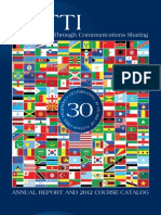 2012 USTTI Catalog