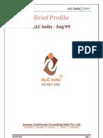 Brief Profile of ALC India