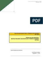 GUIÃO DE TRABALHO 2011-12 - Geografia 7ºANO - Países e regiões geográficas