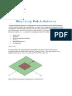 Micro Strip Patch Antenna