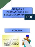 ESPAÇO CONFINADO - Paulo E. S. Mancebo - Apresentação Po