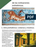 El arte de las civilizaciones prehelénicas
