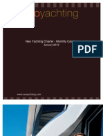 Neo Yachting - Luxury Yacht Charter catalog January 2012