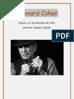 Alguns poemas de Leonard Cohen (1)