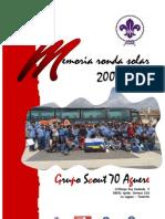 Memoria de la Ronda 2007 - 2008