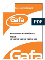 Manual Heladera Gafa
