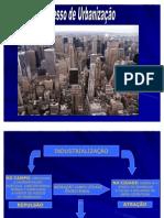 9 O processo de urbanização 1