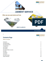 Waste Management Service Plan 2010