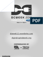 DCWEEK 2012 Overview