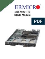SBI 7426T T3 Blade Module
