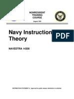 US Navy Course NAVEDTRA 14300 - Navy Instructional Theory