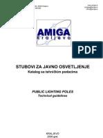 Amiga Stubovi Javne Rasvete
