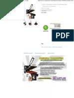 (Prensa Térmica 38x38cm Tecidos, Chinelos, Mouse-pads)