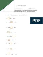 Evidens PBS Matematik Tahun 2 B3D1E4 Asas Darab Bahagi