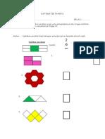 Evidens PBS Matematik Tahun 2 B2D3E1 Pecahan
