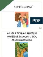 """""""Por ser Filho de Deus"""" (Esboço 2012, pg 28)"""