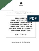 Propuesta Psoe-iu to General de Bolsas de Trabajo Temporal 2011-2015 - Copia