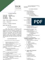 Gepsych Syllabus -2nd Term 11-12