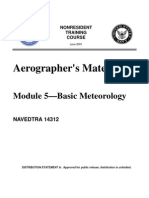 US Navy Course NAVEDTRA 14312 - Aerographer's Mate Module 5—Basic Meteorology