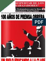 El Despertar de los Trabajadores 100 Años - Enero 1912_Enero 2012
