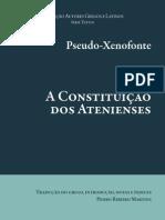 Pseudo Xenofonte a Constituicao Dos Atenienses