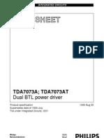 TDA7073A datasheet