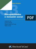 Discapacidades e inclusión social