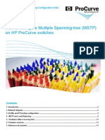 How to Configure Multiple Spanning-Tree (MSTP) Configuration Note Sept 08 EMEA Eng A4