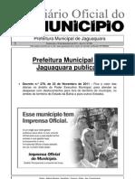 Decreto Diárias Jaguaquara