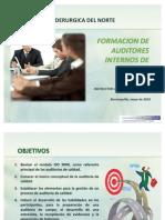 Capacitacion Formacion Auditor Interno Iso9001-2008