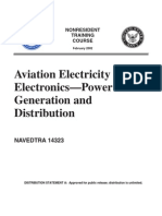 US Navy Course NAVEDTRA 14323 - Aviation Electricity & Electronics - Power Generation & Distribut