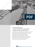 Unconventional Gas - A Chance for Poland and Europe