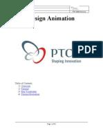 ProE PTC Animation