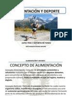 Nutrición y Deporte (Ultra Trail)