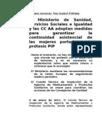 Pip Ministerio