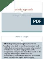 PKU3105 Linguistic Approach