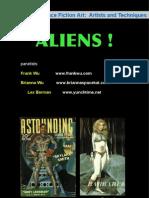 Aliens in 20th Century Science Fiction Art
