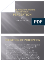 PKU3105 Factors Affecting Writing Competency Preception
