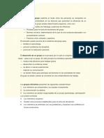 Desarrollo Grupal - ETAPAS