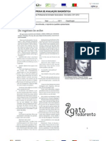Teste Diagnóstico de Português - GATO FEDORENTO