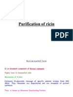 Ricin Purification Protocol