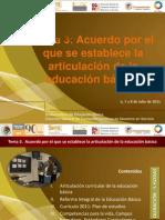 Estructura Acuerdo SEP