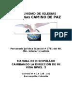 Manual de Discipulado Nivel 2