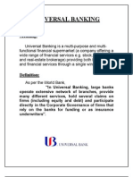 Meaning and Definition of Universal Banking