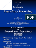 11. the Task of Exegesis - Five Stages 27Frs