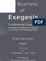 12. the Business of Exegesis - Fun Ada Mental Question 20Frs