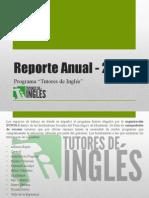 Reporte Anual 2009