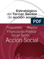 Propuestas para mejorar la Financiación Pública del Tercer Sector de Acción Social